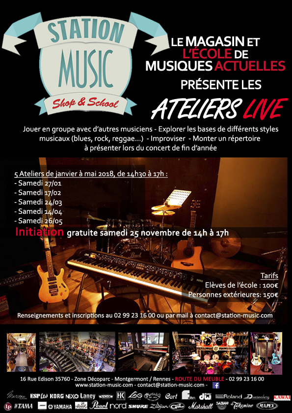 Ateliers Live Station Music