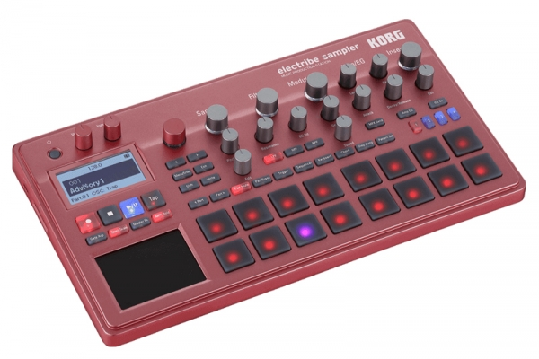KORG - ELECTRIBE 2 SAMPLER RED - STATION MUSIC