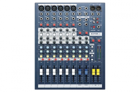 Soundcraft − EPM6 console instrument station music
