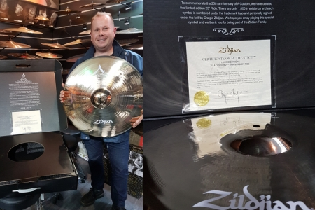 zildjian AV10 custom station music
