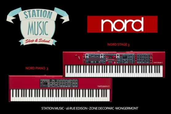 Clavier NORD Stage 3 / Nord piano 3 / Station Music / route de st malo / Mongermont / Rennes