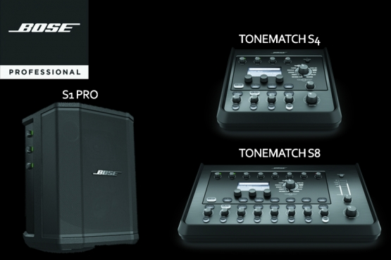 bose s1 tonematch s4 et s8 - station music shop & school