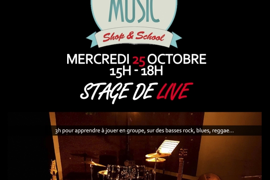 stage de live station music