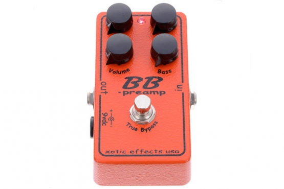 XOTIC - BB PREAMP pédale booster/distorsion station music rennes