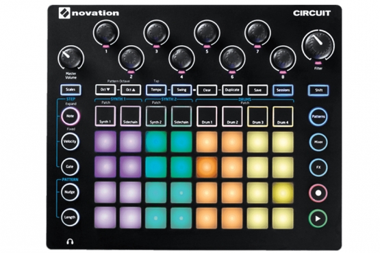 Novation − CIRCUIT controle station music
