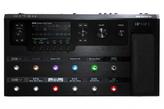 Line 6 Helix Floor station music