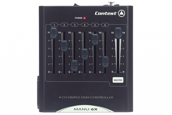 Contest − MANU-6X console éclairage station music