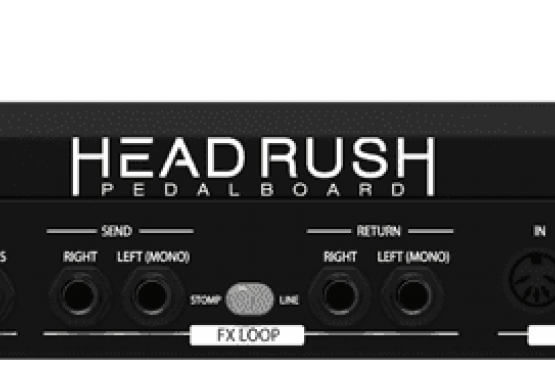Headrush pedal board station music