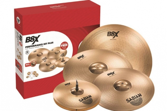 pack sabian 45003XG cymbales station music