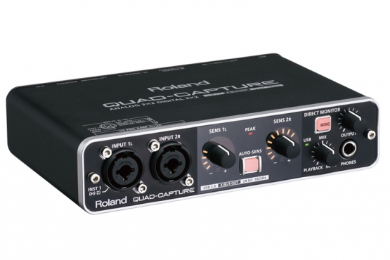 ROLAND quad capture UA55 carte son externe station music